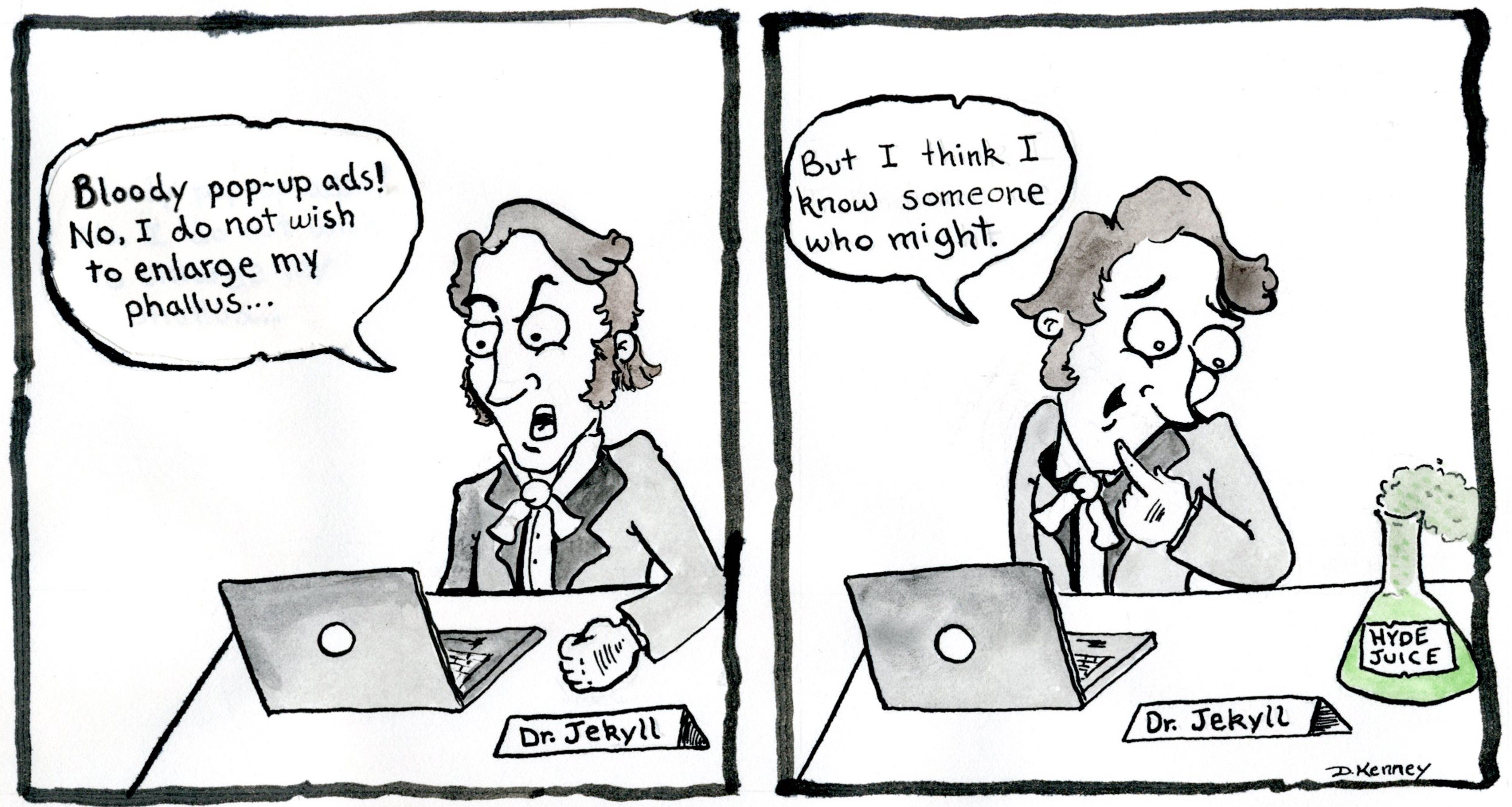jekyll-comic