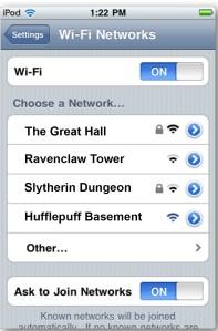 WiFiHogwarts