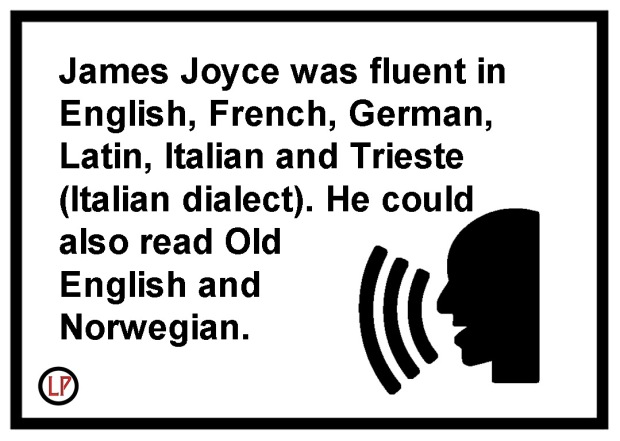 James-Joyce-Languages