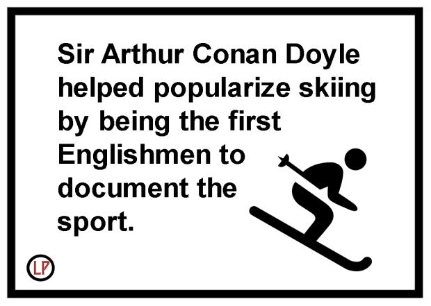 Arthur-Conan-Doyle-Skiing